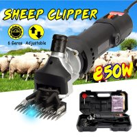 850W AC 110 220v Electric Sheep Dog Pet Hair Clipper Animal Shearing Supplies Goat Alpaca Farm Cut Machine with 6 Speed