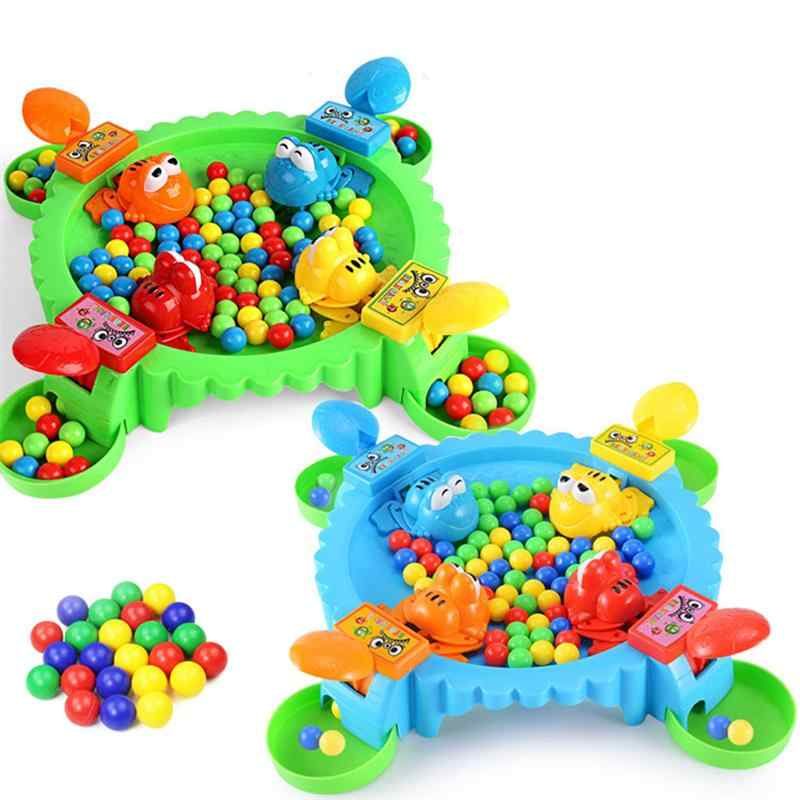 Frog Eat Beans Board Game Funny Strategy Game Family Parent-Child Interactive Children Party Game Kids Stress Relief Novelty