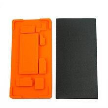 1 комплект в кадре пресс-форма ОСА Ламинирование плесень резиновая прокладка для samsung S7 край S8 S9 Note 8 примечание 9 inframe держатель из тисненой жести
