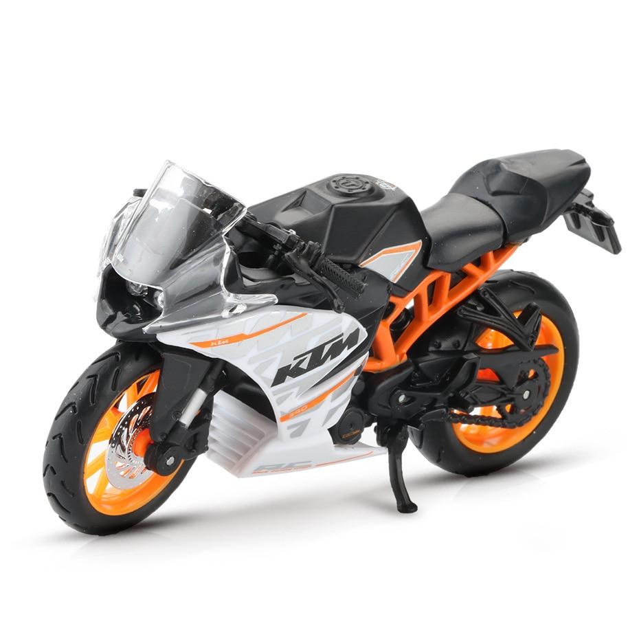 Toy KTM RC 390 Motorbike 11x3x6 cm 32