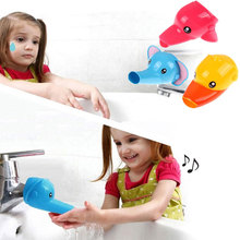 Animal Cartoon Faucet Extension Childrens Guide Sink Hand Sanitizer Handwashing Tools Of The Water Trough Bathroom