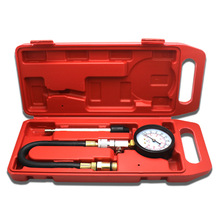 G324 בודק אבק דחיסת מד מנוע צילינדר דחיסת מד לחץ מד בנזין דחיסת Tester מד
