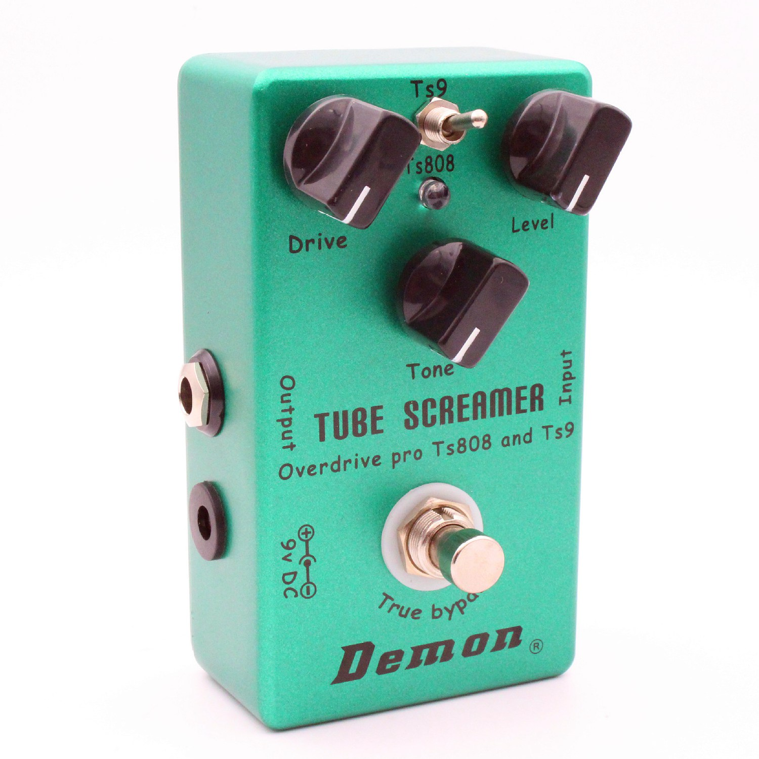 HOT-MOSKY Demon <font><b>TS808</b></font> Tube Screamer Overdrive Pro Vintage Electric Guitar Effect Pedal image