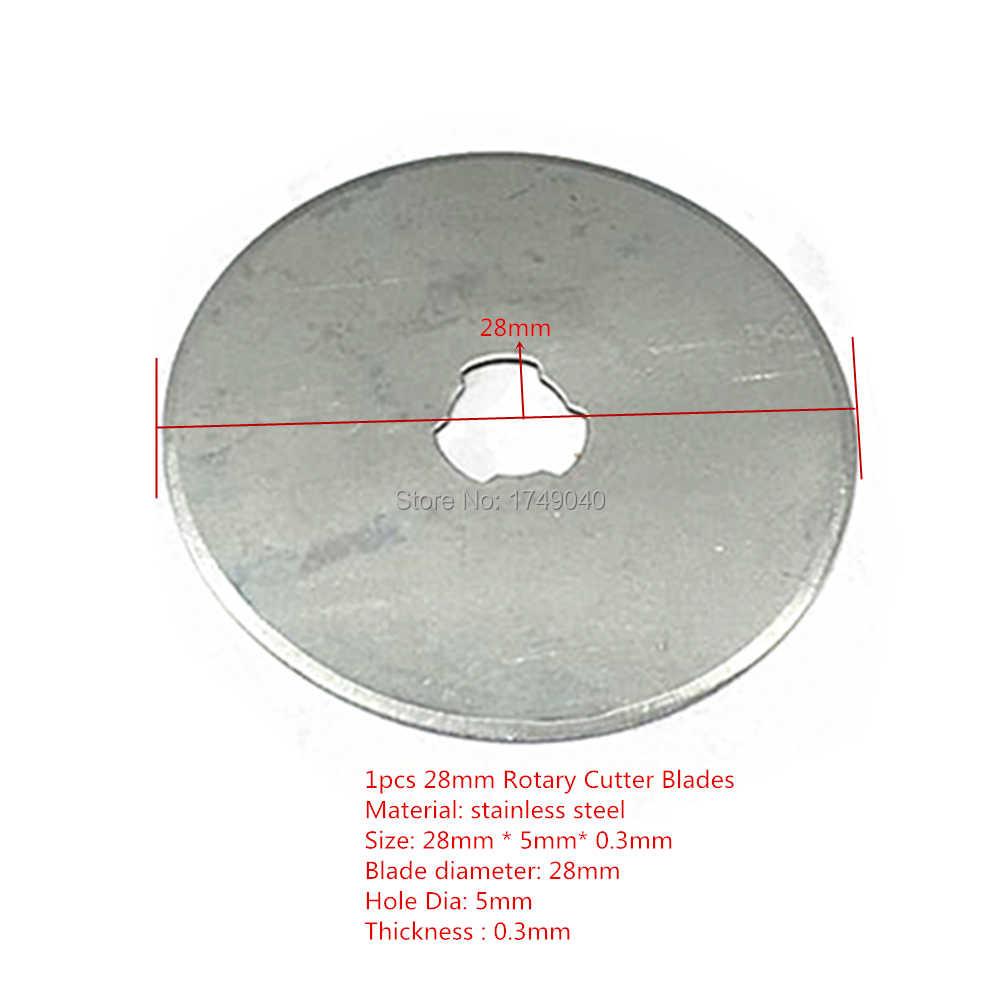 Rotary Cutter Klingen 28mm 45mm Rund Refill Klingen Quilten Nähen Stoff Leder Vinyl Film Papier Handwerk Schneiden Hand werkzeuge
