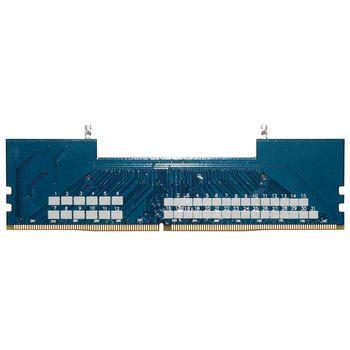 Professional Laptop DDR4 SO-DIMM To Desktop DIMM Memory RAM Connector Adapter Desktop PC Memory Cards Converter Adaptor