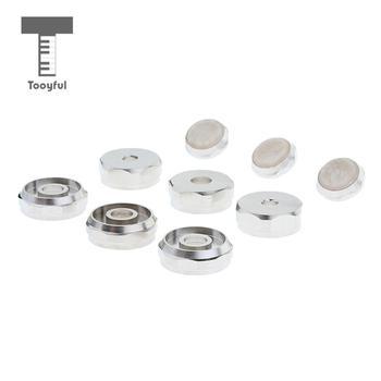 Tooyful 3 zestawy części do naprawy trąbek pokrywa śrubowa do akcesoriów trąbkowych tanie i dobre opinie