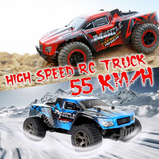 55KM/H 1/20 2.4GHz 4WD RC Racing Car Electric Remote Control