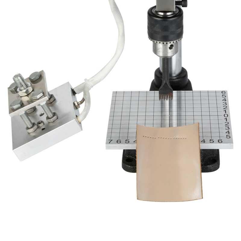 JINXINYANG feuille chaude estampage Machine en cuir gaufrage or estampage chaud pressage moule coupe losange poinçonnage marquage bois