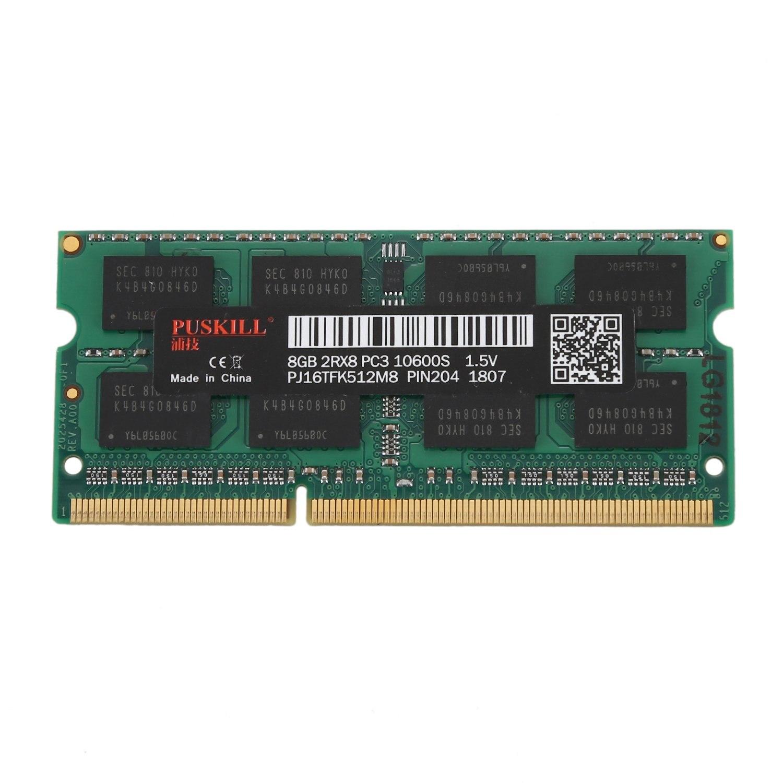 PUSKILL DDR3 8G 1.5 V 204Pin mémoire ram Pour Ordinateur Portable