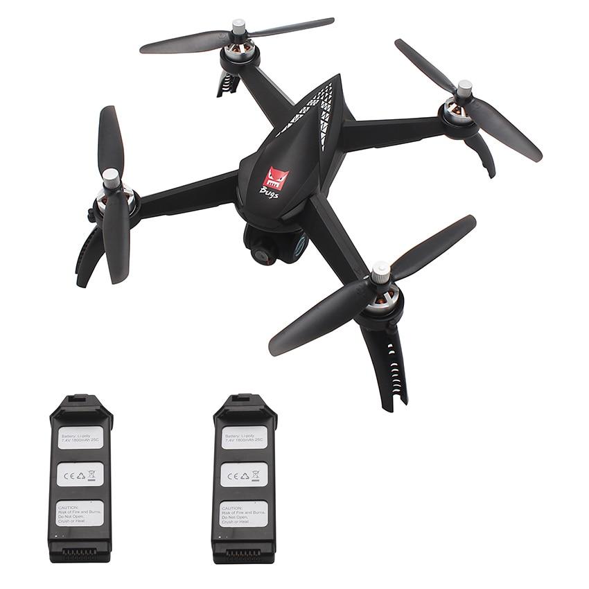 MJX B5W 5 w Brushless Moteur GPS Drone 5g WiFi FPV 1080 p Caméra Waypoints Maintien D'altitude Professionnel Caméra drone