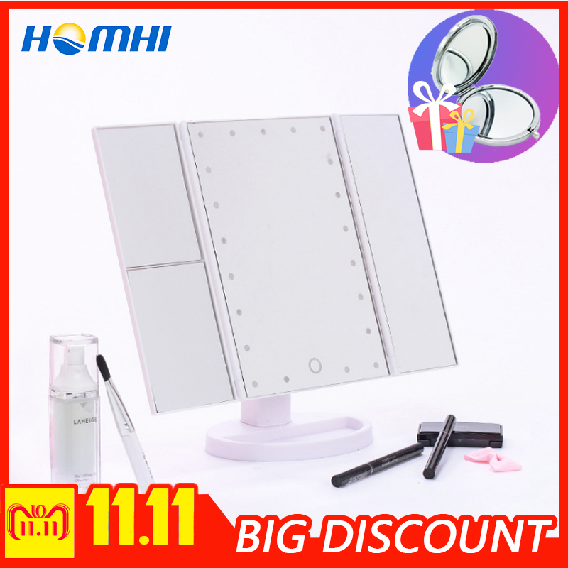 Beautician lamp for cosmetology mirror touch led light for mirror makeup makeup table with lighted mirror vanity lights make цена