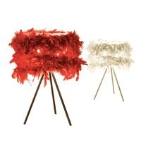 Сентябрь современные и модные перо Настольная лампа Гостиная Спальня прикроватная напольная светильник в помещении и столовая люстра осве