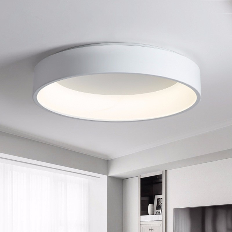 Cooperative Led Ceiling Light Modern Lamp Living Room Lighting Fixture Bedroom Kitchen Surface Mount Flush Panel Remote Control Ceiling Lights