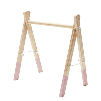 NEW Nordic Baby Room Decor Play Gym Toy Wooden Nursery Sensory Toy Gift Infant Room Clothes Rack Accessories Photography Props