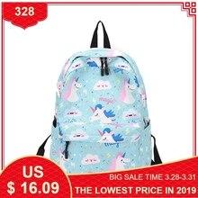 Купить с кэшбэком Fashion Waterproof Back Pack Women School Bag Leisure Ladies Knapsack Laptop Backpacks Female Travel Bags for Teenage Girls