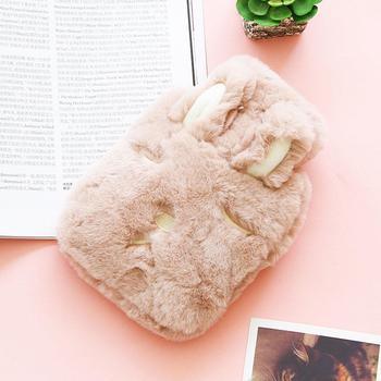 Плюшевые бутылку воды дома Кролик прочный и т. д. сумка Cat 750 мл безопасный теплые герметичные с офисом Bear Мягкий чехол с защитой от нагрева