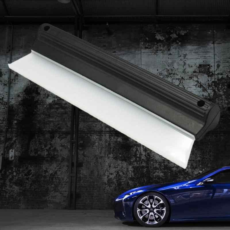 1 個洗車機窓ブラシ車両フロントガラス Cean 自動乾燥ワイパーブレードスキージクリーニングガラス車のクリーニングブラシ