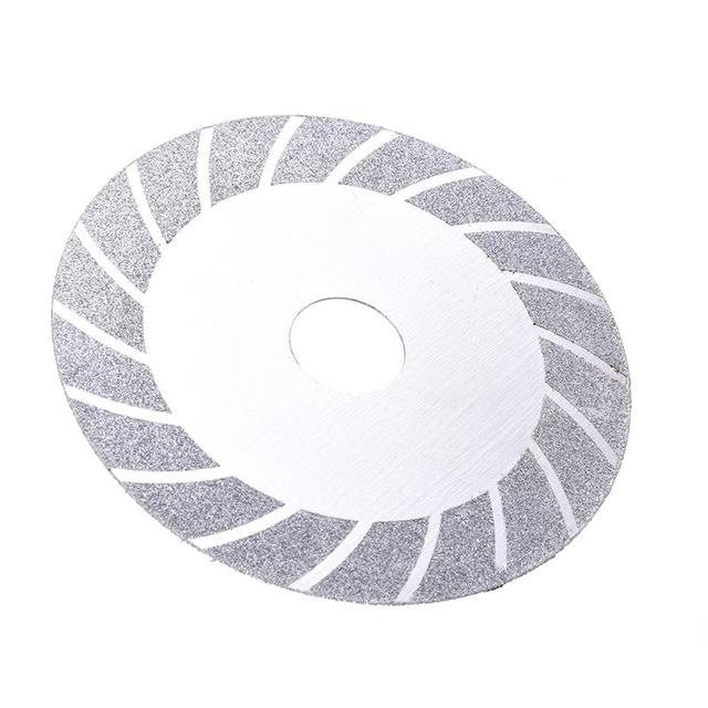 100 mm Rad Schleifen Disc Galvani Diamant Sägeblatt Schneiden Hartmetall Stein Winkel Grinder Dreh Werkzeug Fliesen Holzbearbeitung
