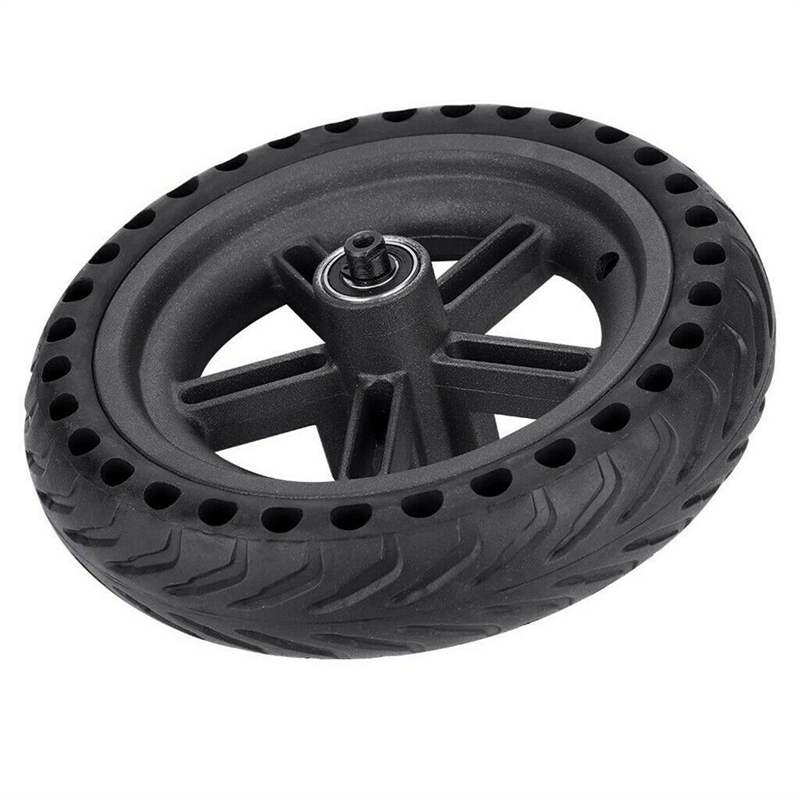 Image 3 - 8.5 Inch Damping Solid Tyres Hollow Non Pneumatic Wheel Hub And Explosion Proof Tire Set For Xiaomi Mijia M365 Electric Scoote-in Scooter Parts & Accessories from Sports & Entertainment