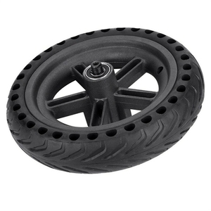 Image 3 - 8.5 Inch Damping Solid Tyres Hollow Non Pneumatic Wheel Hub And Explosion Proof Tire Set For Xiaomi Mijia M365 Electric Scoote