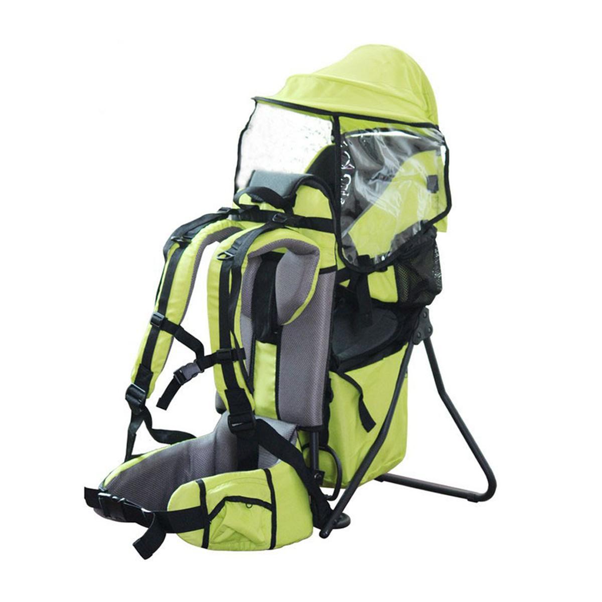Charge 30kg réglable en plein air bébé enfant en bas âge sac à dos Camping escalade sac étanche alpinisme randonnée enfant enfant porteur - 4