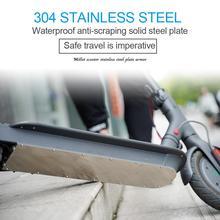 Accessoires de Scooter électrique couvercle de batterie Anti Collision anti dérapant plaque de Protection de sol armure de châssis pour panneau de Protection M365