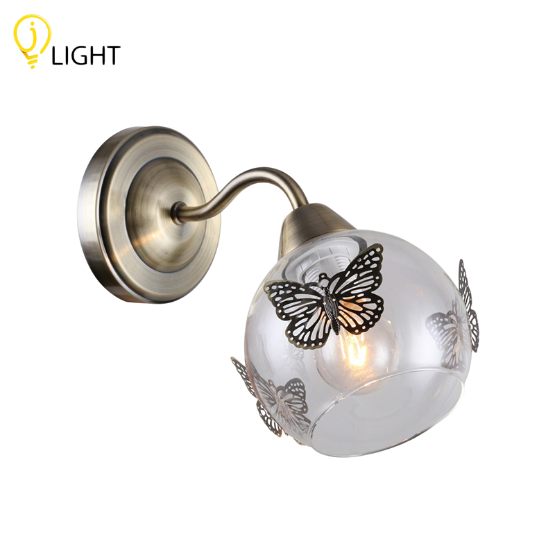 Wall lamp J-LIGHT Lula 1167/1 W Bronze antique loft industrial vintage wall lamp led stair lights swing long arm wall light fixtures wall sconce appliques muralces