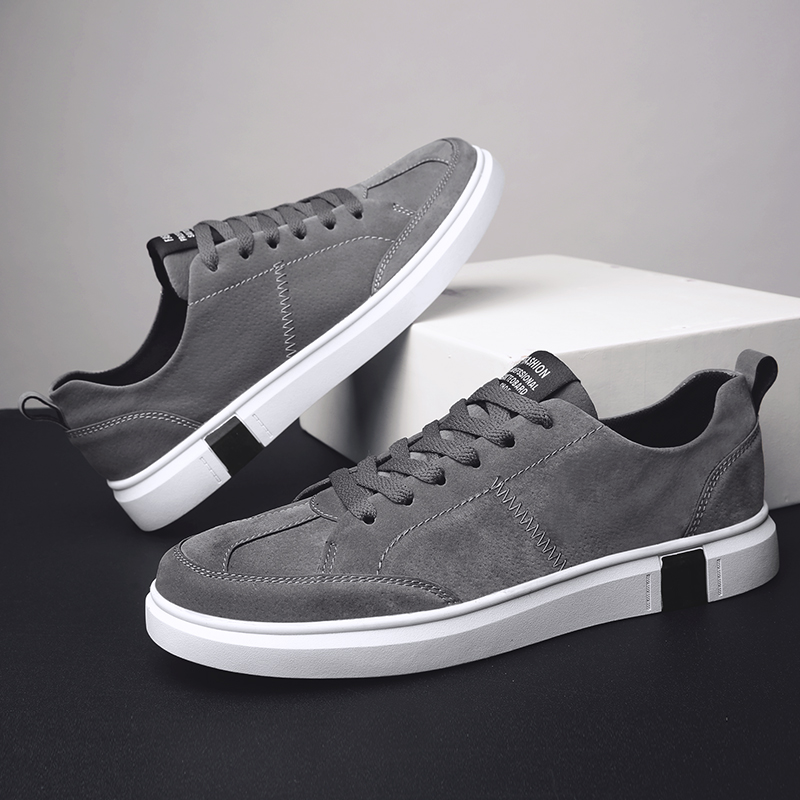 Confortable Décontractées Plein khaki En Léger gray Chaussures Air Respirant Masculine Printemps Marche Espadrilles Automne Black Hommes Mode De FqPrq