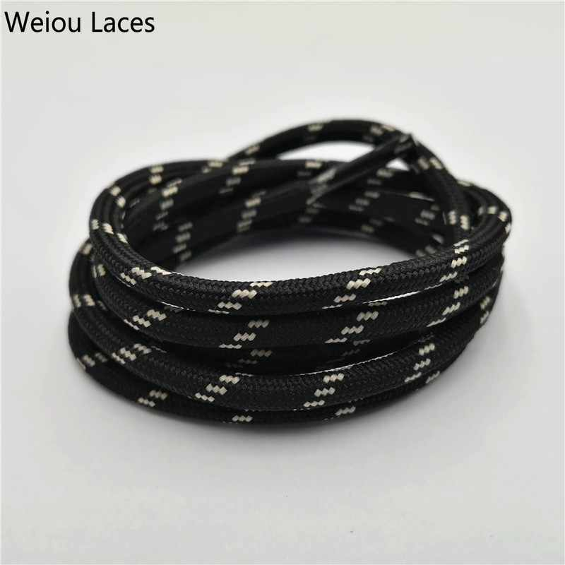 Weiou Outdoor Round Rope Hiking Shoes Laces Wear Resistant Sneakers Boot Shoelaces Strings For Men And Women Sports Shoestrings