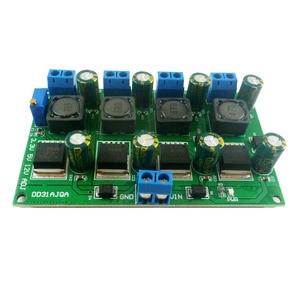 Image 5 - 3A 4 채널 다중 스위칭 전원 공급 장치 모듈 3.3V 5V 12V ADJ 가변 출력 DC DC 스텝 다운 벅 컨버터 보드