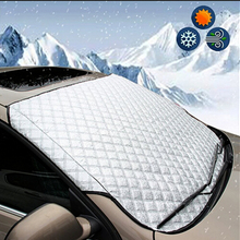 Новое поступление, покрытие для лобового стекла автомобиля, защита от снега, мороза, льда, защита от пыли, защита от тепла, защита от солнца,, Faroot популярный