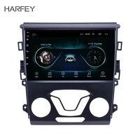 Harfey Android 8,1 9 дюймов Все в одном для Ford Mondeo 2012 2014 Aftermarket gps для навигации и аудиосистемы система 3g WiFi радио тюнер