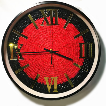 New 3D Wall Clock Original Design Clock Modern Design For Living Room Handmade Silent Movement Duvar Saati For Home Decoration