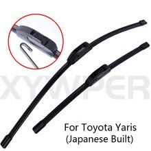 Стеклоочистители для автомобилей для Toyota Yaris, японские, изготовленные из 1999 2000 2001 2002to2011, стеклоочиститель,, автомобильные аксессуары