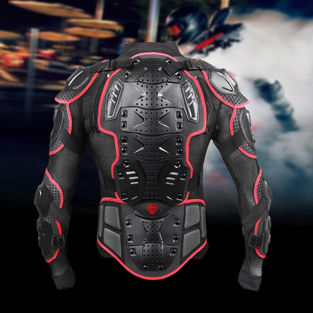 Unisexe Moto armure Protection Motocross vêtements veste protecteur Moto croix arrière armure de Protection - 2