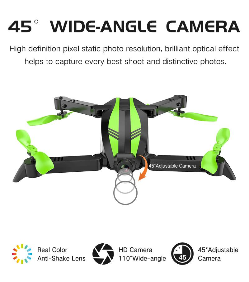 GW68 Wifi FPV with 0 3MP 2 0MP Angle Camera 12mins Flight Time Selfie Mini RC Drone Quadcopter RC Helicopter in RC Helicopters from Toys Hobbies