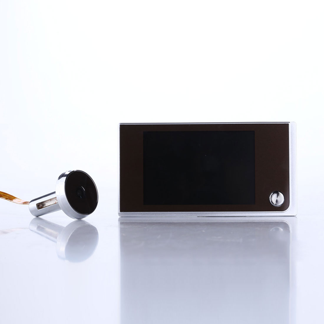 120 degrés judas visionneuse 3.5 pouces numérique sonnette LCD couleur écran porte oeil sonnette Mini extérieur couleur caméra