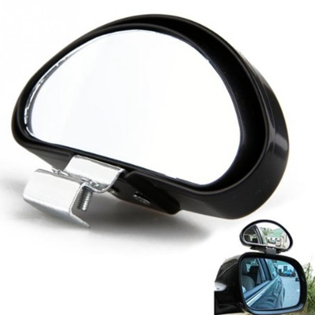 Car Blind Rearview Mirror High Definition Convex Glass Wide Angle Rear View Auxiliary Blind Spot Mirror Parking Reference Mirror