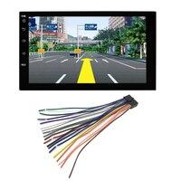7 дюймов Автомобильный Dvd Радио мультимедийный плеер Gps навигация универсальный для Nissa N peugeot Toyota Doble din Авторадио