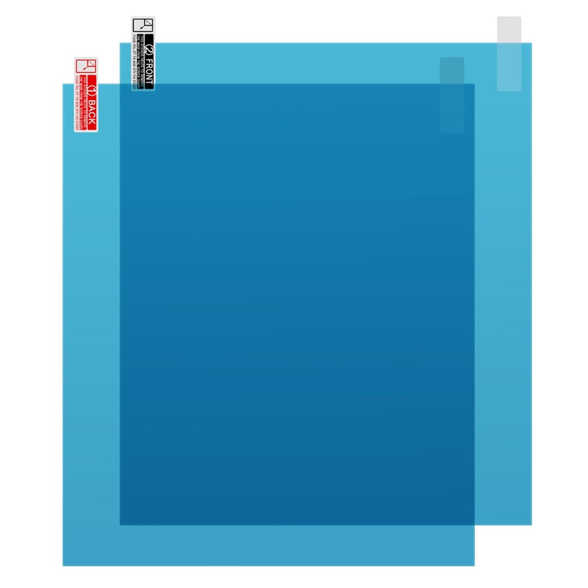 Nieuwe Collectie 2 stks/set 175*200MM Auto Venster Anti Water Mist Anti Fog Regendicht Venster Beschermende Film Universele