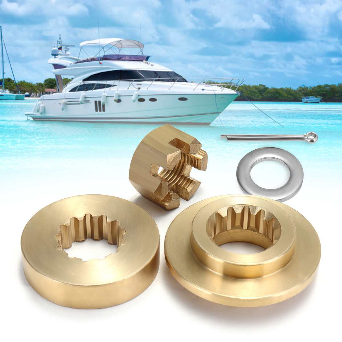 Yamaha Outboard Prop Nut Hardware Kits - Year of Clean Water
