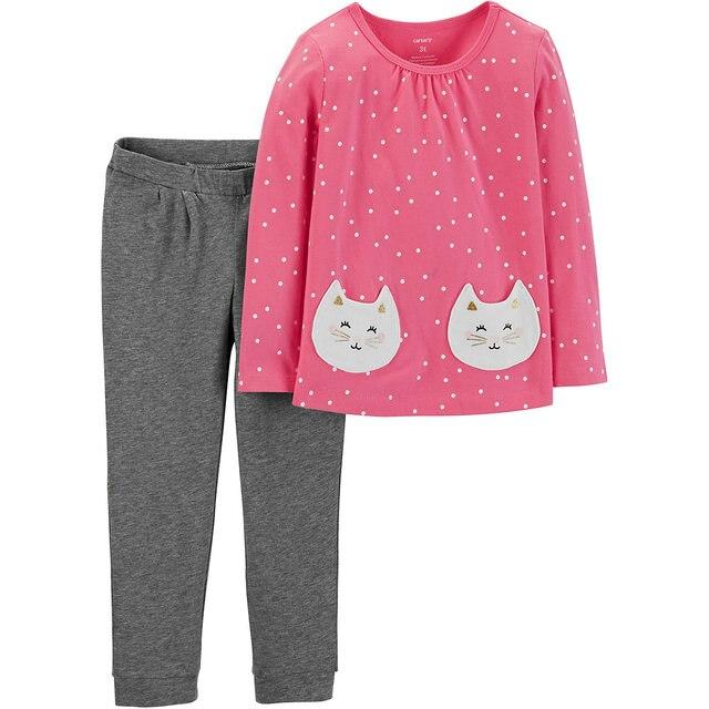 Комплект: Туника и брюки Carter's для девочки