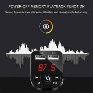 Image 3 - Araba MP3 Çalar Bluetooth Eller Serbest P3 Malzemeleri Çakmak araba şarjı Pl Araç Üstü Alıcı 1A + 3.1A