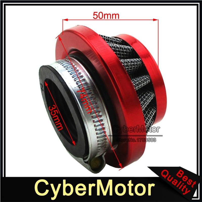 35mm 70 90 110 125 150cc ATV DIRT PIT BIKE GO KART AIR FILTER chinese taotao