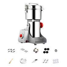 Electric Grain Spices Cereals Coffee Dry Food Mill Grinding Machines Gristmill Home Powder Crusher Grinder(China)