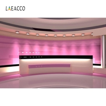 Laeacco Stage Newspaper Report Spot Light Decor Portrait Photography Background Custom Photographic Backdrops For Photo Studio цена