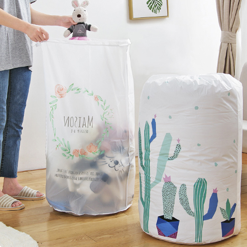 1PC Kid's organizer storage bag Clothes Packaging Toy packing Bag Quilt Closet organizer Clothing bag For Pillow Blanket Bedding