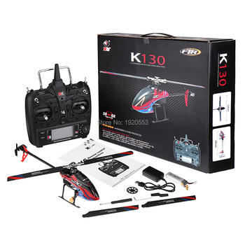 Wltoys XK K130 2.4G 6CH Brushless 3D 6G System Flybarless RC Helicopter RTF Super Combo Compatible For FUTABA S-FHSSRTF