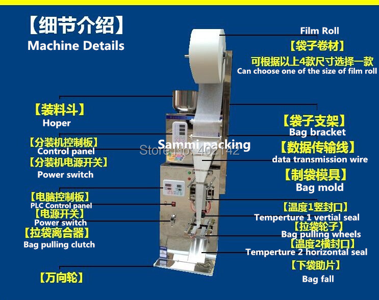 tea bag packaging machine 10 spare cutting knives only shipping to Korea