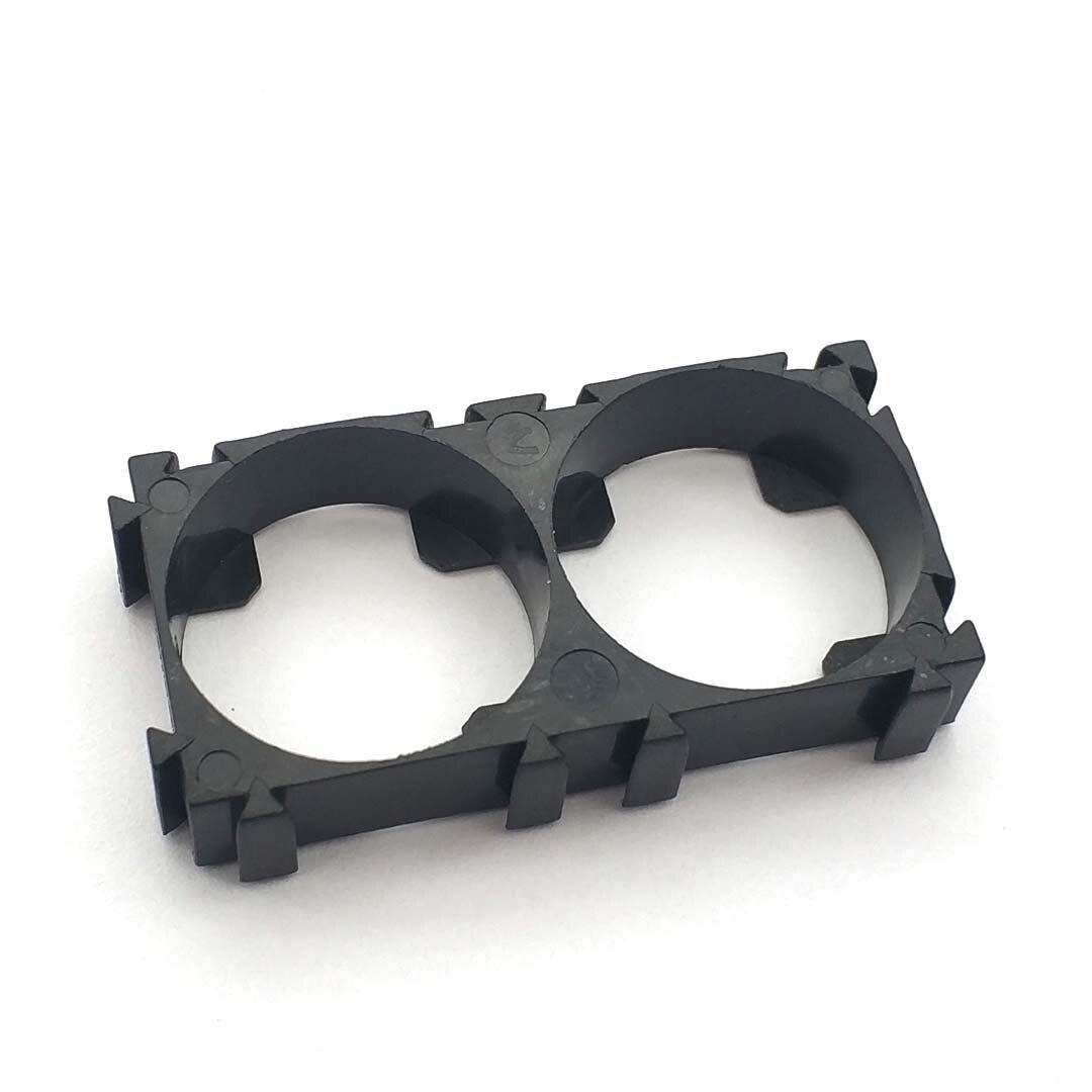 5 Pcs 21700 2x Battery Holder Bracket Cell Safety Anti Vibration Plastic Brackets For 21700 Batteries